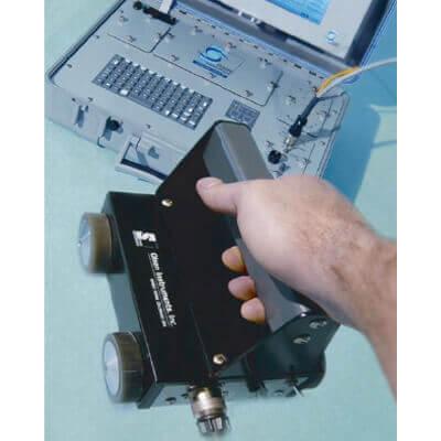 シース管グラウト充填探査器 衝撃弾性波スキャナー IESレンタルならKEYRENT