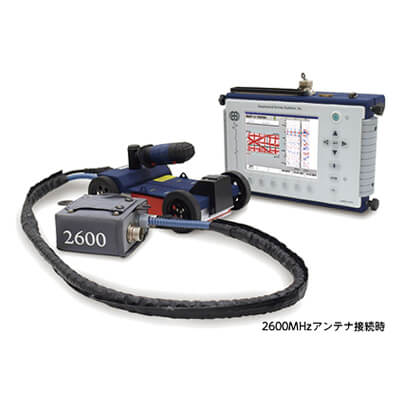 埋設管探査機・地下レーダー探査システム SIR-3000